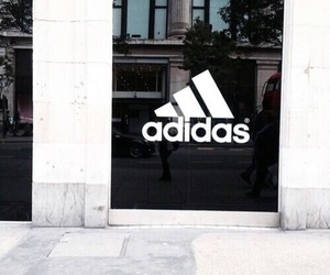 adidas, retail, and store front image