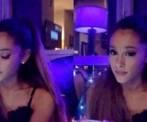 reaction and ariana image