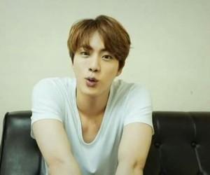 jin, white, and seokjin image