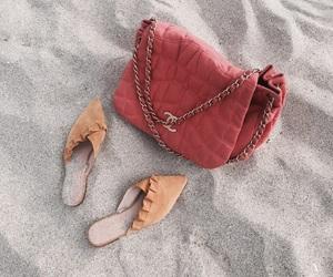 bag, beach, and fashion image