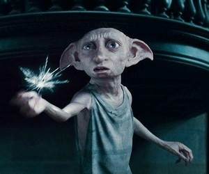 harry potter, harry potter movie, and dobby image