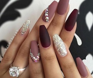 beauty, diamond, and mauve image