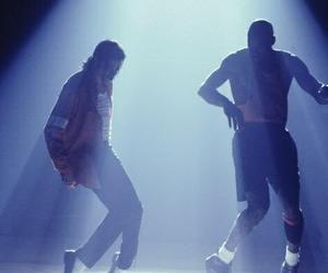 michael jackson, michael jordan, and king of pop image