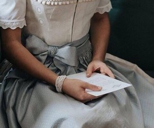 dress, book, and princess image