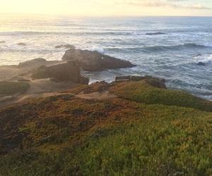 california, coast, and nature image