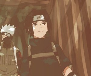 naruto, team 7, and amime image