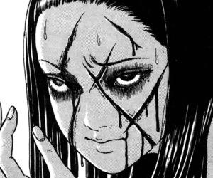 manga, horror, and tomie image