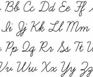 calligraphy, study, and cursive image