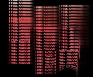 anxiety, anxious, and blurry image