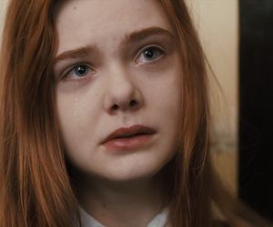 Elle Fanning and cry image