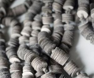 fabric, grey, and material image