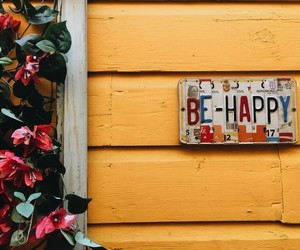 happy, inspire, and yellow image