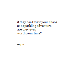 adventure, chaos, and poetry image