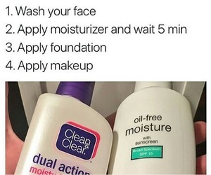 face wash and beauty tips image
