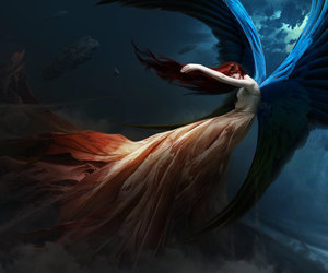 angel, fallen, and fantasy image