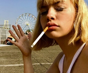aesthetic, cigarette, and edgy image