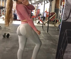 body, butt, and fitness image