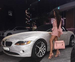 car, dress, and fashion image