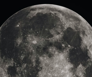 aesthetic, black, and moon image