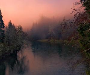 nature, tumblr, and lake image