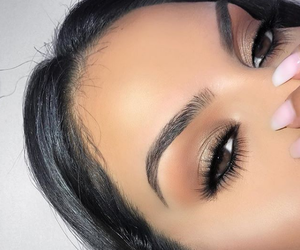 inspo, make up, and perfect eyebrows image