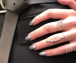 fashion, rings, and girls image