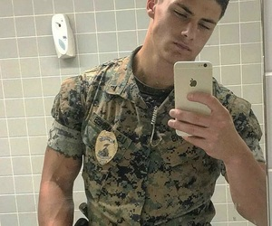 army, hot body, and hot guy image