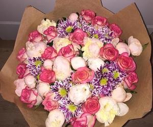 flowers, wonderful, and букет image