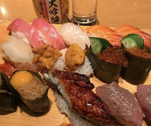 fish, food, and japan image
