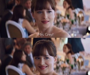 wedding, fifty shades of grey, and love image