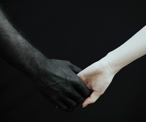 love, black, and black and white image