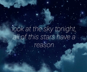 nightsky, quotes, and lilpeep image