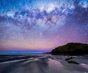 night, sky, and travel image