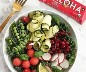 green, greenery, and peas image