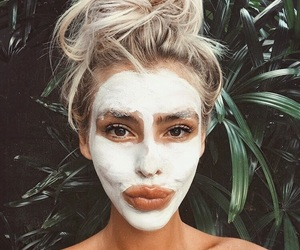 aesthetic, beauty, and face mask image