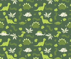dinossaur, green, and wallpaper image