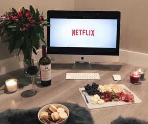 netflix, food, and wine image