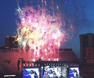 one direction, Harry Styles, and fireworks image