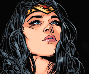 wonder woman, diana of themyscira, and comic image