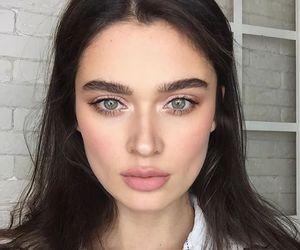eyebrows, girl, and ekaterina spivak image