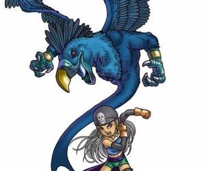 anime and blue dragon image