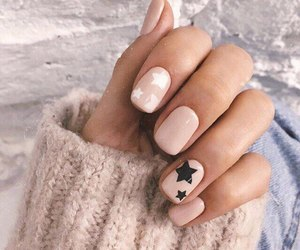 nails, style, and stars image