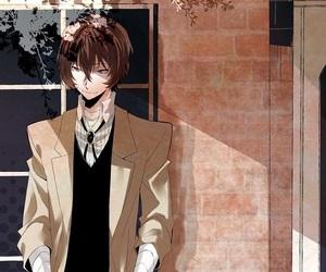 anime, dazai osamu, and bungou stray dogs image