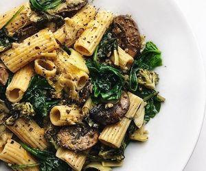delicious, pasta, and vegan image