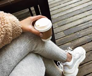 fashion, outfit, and sneakers image