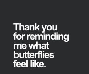 love, butterfly, and quotes image