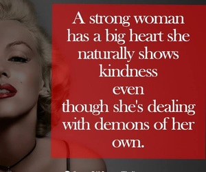 strong women and positive attitude image