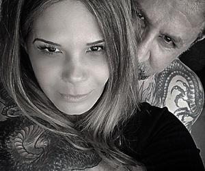 ana, lovers, and tatoo image