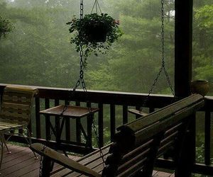 rain, nature, and relax image