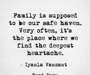 family, heartache, and narcissism image